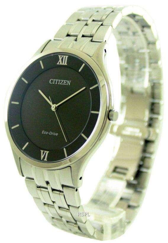 Citizen Eco-Drive Stiletto Super Thin AR0071-59E Mens Watch 1