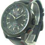 Citizen Eco-Drive Power Reserve GMT Pilot 200M BJ7075-02E Mens Watch