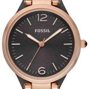 Fossil Georgia Grey Dial ES3077 Womens Watch