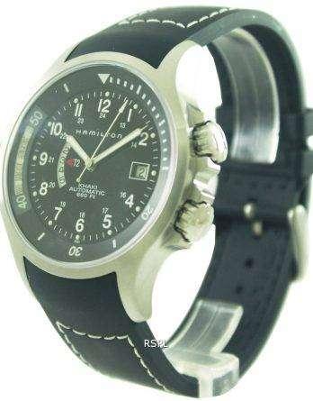 Hamilton Khaki Automatic Navy GMT H77615333 Mens Watch