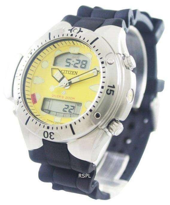 Citizen Aqualand Promaster 200m Diver Rubber Watch JP1060-01X JP1060-01 JP1060 1