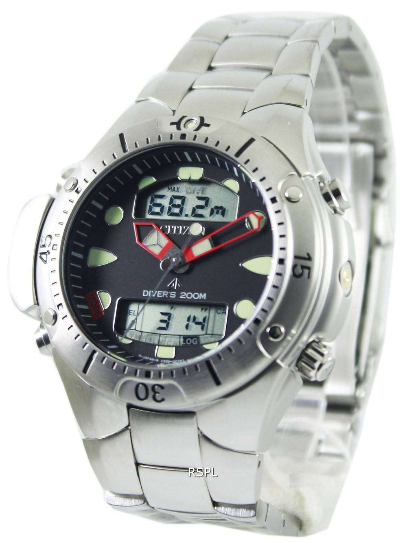 Citizen aqualand diver depth meter promaster jp1060 52e jp1060 mens watch downunderwatches - Citizen promaster dive watch ...