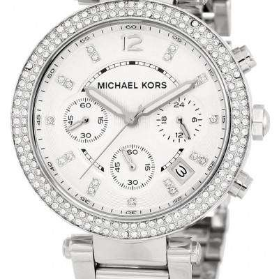 Michael Kors Parker Crystals Chronograph MK5353 Womens Watch 1