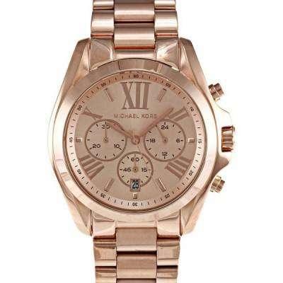 Michael Kors Bradshaw Chronograph Rose Gold-tone MK5503 Womens Watch 1