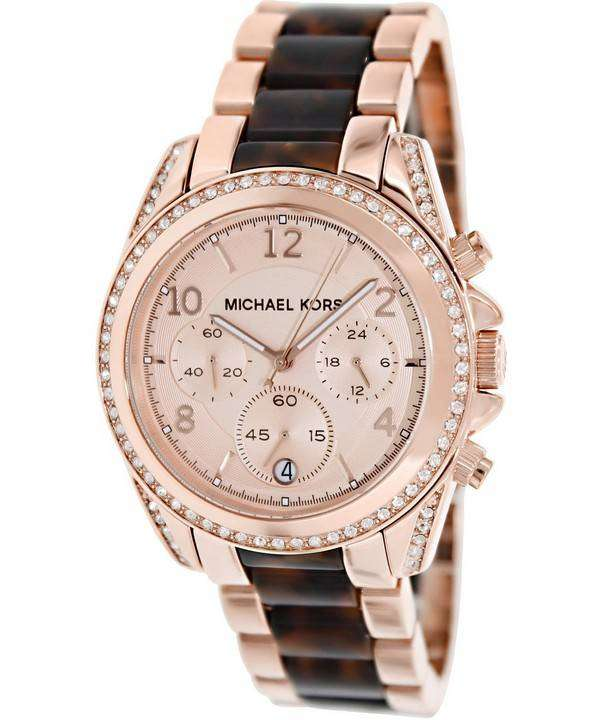 Michael kors watches rose gold price