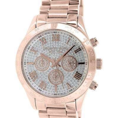 Michael Kors Layton Chronograph Crystal Pave Dial MK5946 Womens Watch 1