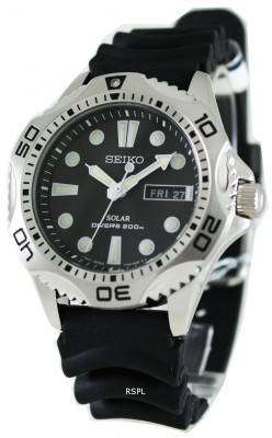 Seiko Solar Scuba Diver Sports SNE107P2 Mens Watch 1
