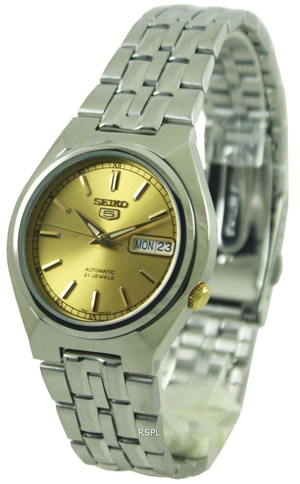 Seiko 5 Automatic 21 Jewels SNK303K1 SNK303K Mens Watch ...