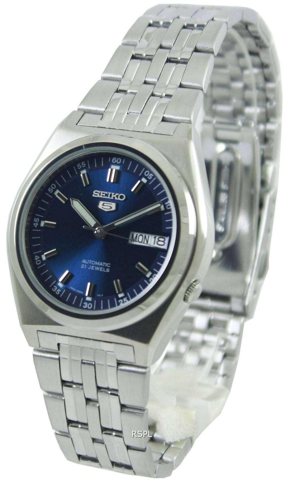 Seiko 5 Automatic 21 Jewels SNK647K1 SNK647K Mens Watch ...