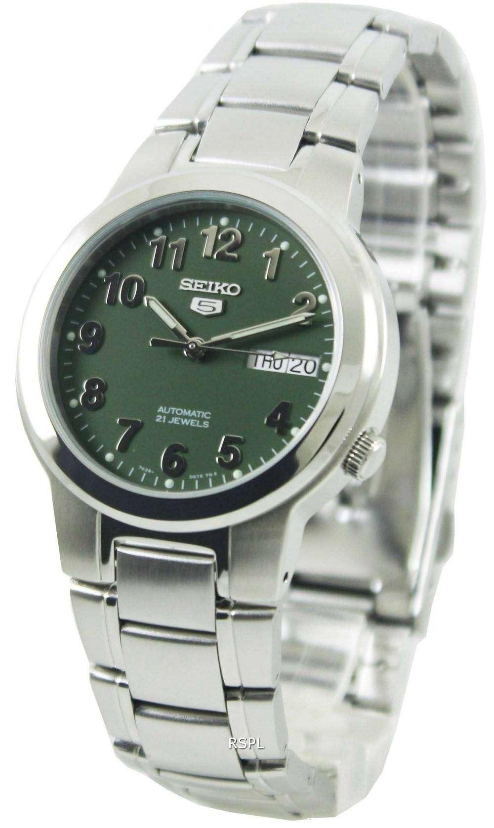 Seiko 5 Automatic 21 Jewels SNKA17K1 SNKA17K Mens Watch ...