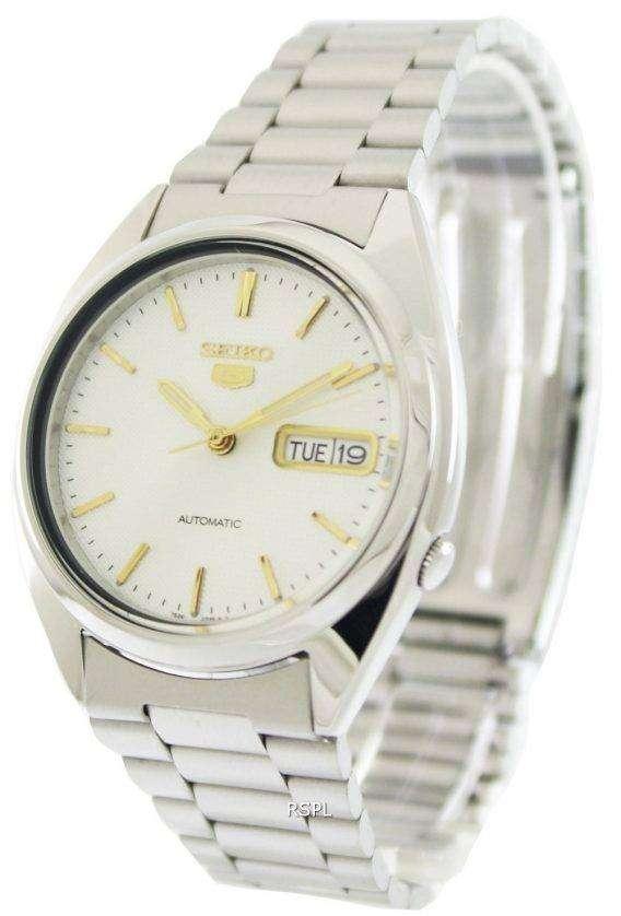 Seiko 5 Automatic 21 Jewels SNXG47K1 SNXG47K Mens Watch 1