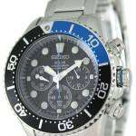 Seiko Solar Chronograph Divers SSC017P1 Mens Watch