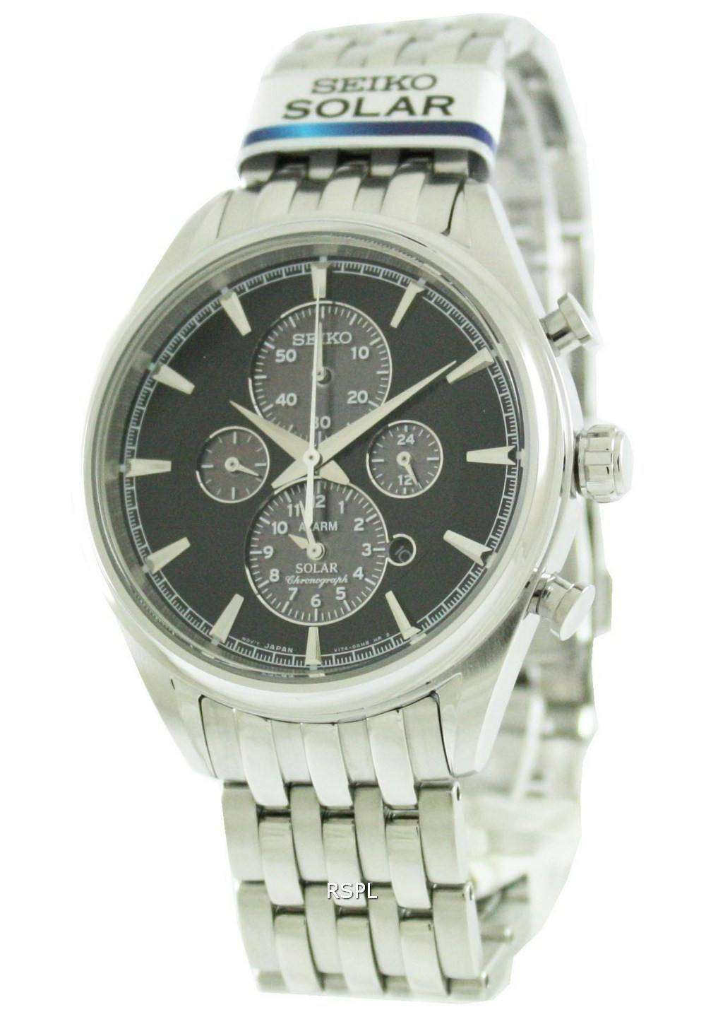 seiko solar chronograph ssc211p1 ssc211p ssc211 mens watch. Black Bedroom Furniture Sets. Home Design Ideas