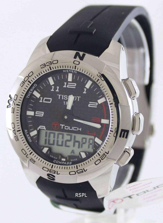 Tissot T Touch Ii Titanium T047 420 47 207 00 Mens Watch