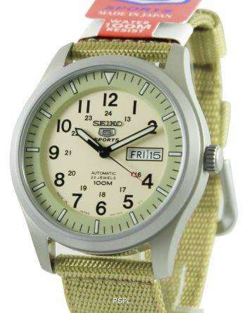 Seiko 5 Military Automatic Sports SNZG07J1 SNZG07J SNZG07 Mens Watch