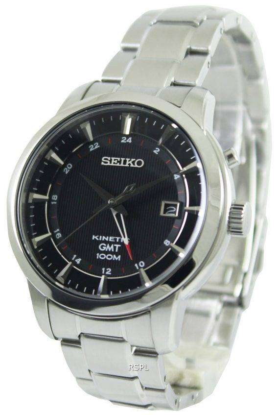 Seiko Kinetic GMT SUN033P1 SUN033P Mens Watch 1