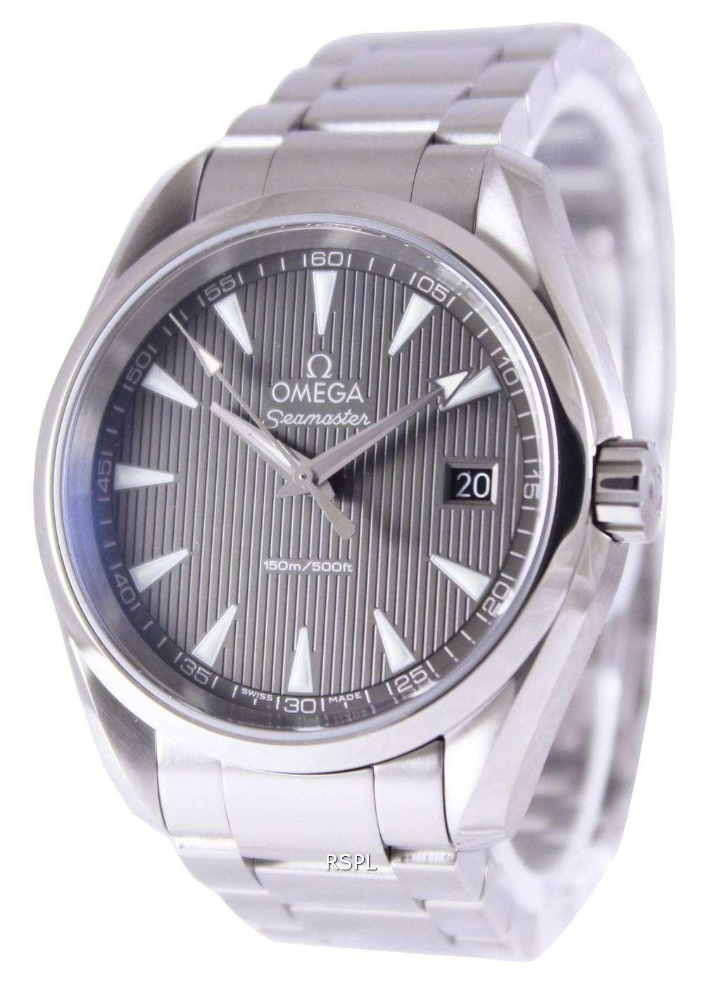 Omega Seamaster Aqua Terra Grey Dial 231 10 39 60 06 001