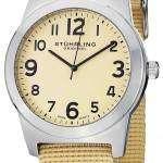 Stuhrling Original Contrail Swiss Quartz Champagne Dial 409.SET.01 Mens Watch