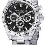 Stuhrling Original Concorso Raceway Swiss Quartz Tachymeter 564.02 Mens Watch