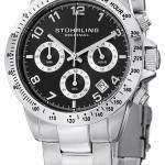 Stuhrling Original Concorso Quartz Chronograph 665B.01 Mens Watch
