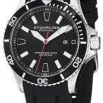 Stuhrling Original Aqua Diver Regatta Quartz 706.01 Mens Watch