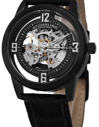 Stuhrling Original Winchester Automatic Self-Wind Skeleton 877.06 Mens Watch
