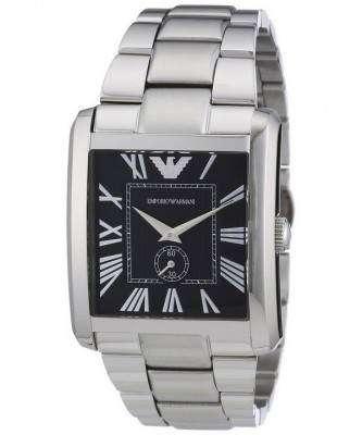 Emporio Armani Classic Black Dial AR1642 Mens Watch