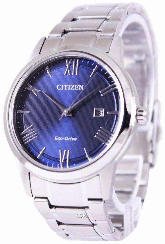 Citizen Eco-Drive Blue Dial AW1231-58L Mens Watch 1