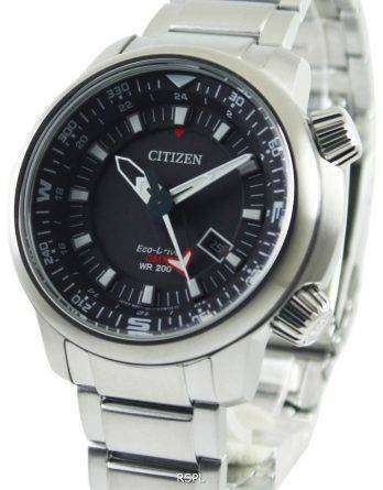 Citizen Promaster Eco-Drive GMT 200M BJ7080-53E Mens Watch