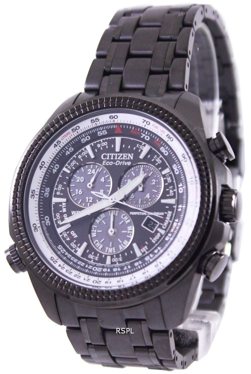 Perpetual Calendar Watch : Citizen eco drive perpetual calendar bl e mens watch