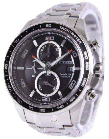 Citizen Eco Drive Titanium Chronograph CA0340-55E Watch