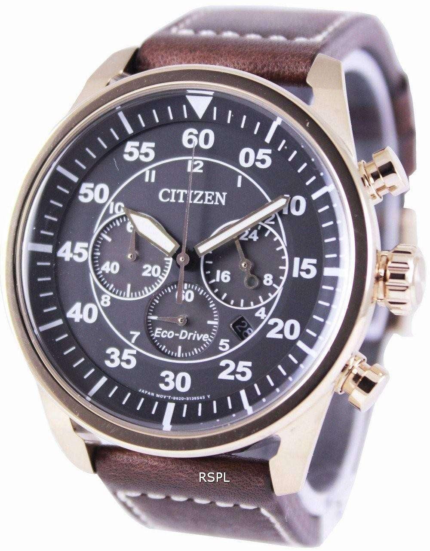 Citizen Eco-Drive Aviator Chronograph CA4213-00E Mens Watch - DownUnderWatches