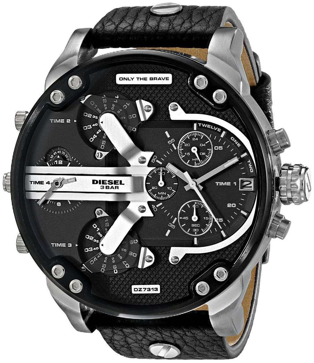 diesel mr daddy 2 0 oversized chronograph dz7313 mens watch downunderwatches. Black Bedroom Furniture Sets. Home Design Ideas