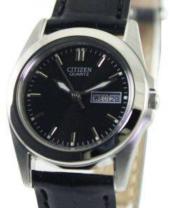 Citizen Quartz Black Dial EQ0560-09E Womens Watch