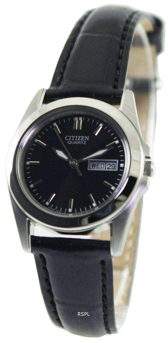 Citizen Quartz Black Dial EQ0560-09E Womens Watch 1