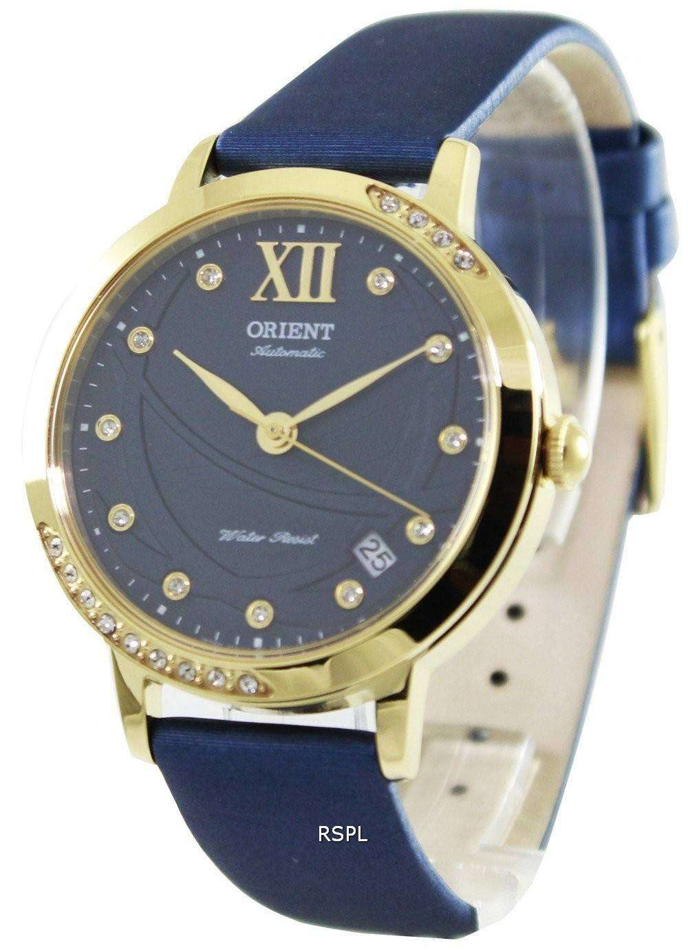 orient fashionable automatic crystals er2h004d womens