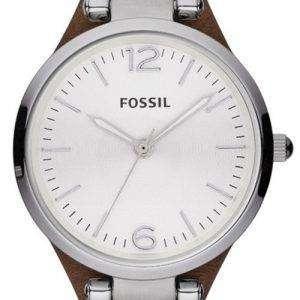 Fossil Georgia Silver Dial ES3060 Women's Watch