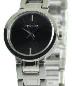 Citizen Quartz Black Dial EX0330-56E Womens Watch