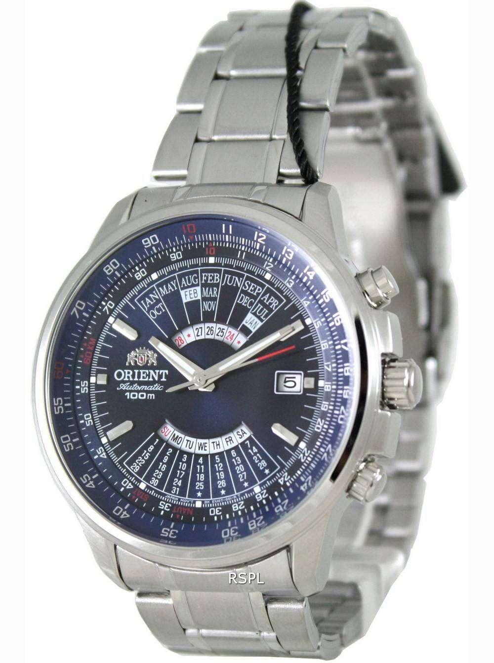 Orient automatic calendar feu07007fx mens watch downunderwatches for Calendar watches