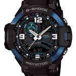 Casio G-Shock GRAVITYMASTER Neon Illuminator GA-1000-2B Mens Watch