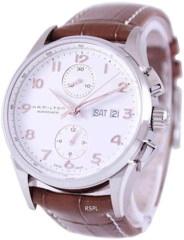 8161ac5a4a7 Hamilton Jazzmaster Maestro Automatic Chronograph H32576515 Mens Watch