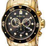 Invicta Pro Diver 200M Chronograph Charcoal Dial INV80064/80064 Mens Watch
