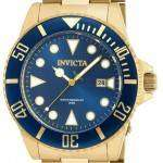 Invicta Pro Diver Quartz Gold Tone 200M 90196 Men's Watch