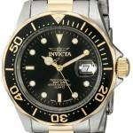 Invicta Swiss Pro Diver 200M Black Dial INV9309/9309 Mens Watch
