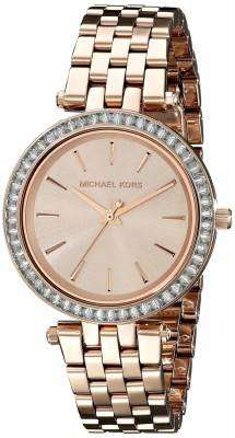 Michael Kors Mini Darci Crystals Rose Gold Tone MK3366 Womens Watch 1