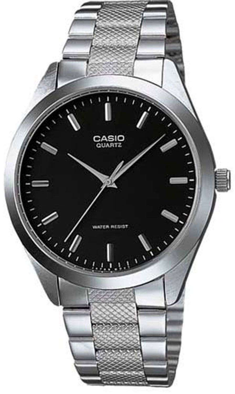 casio quartz analog radiant blue dial mtp 1274d 1adf mtp 1274d 1a mens watch downunderwatches