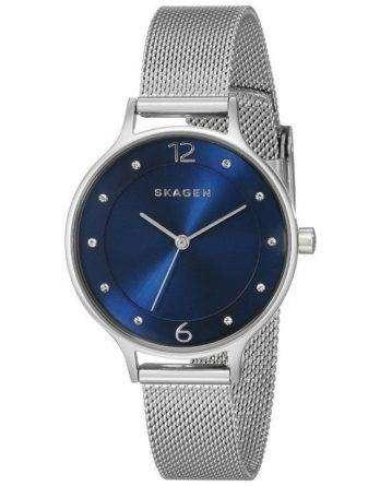 Skagen Anita Crystal-Accented Mesh SKW2307 Women's Watch