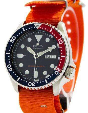 Seiko Automatic Diver's 200M NATO Strap SKX009K1-NATO7 Men's Watch