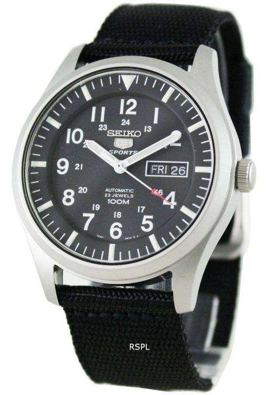 Seiko 5 Mens Automatic 100M SNZG15K1 SNZG15 Sports Watch 1