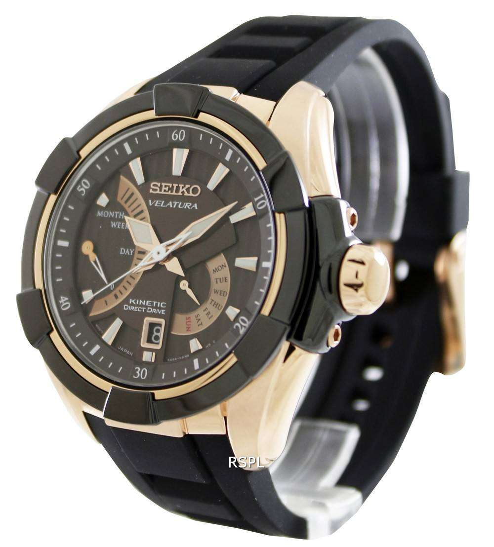 Seiko velatura kinetic direct drive srh020p1 srh020p mens watch downunderwatches for Watches direct